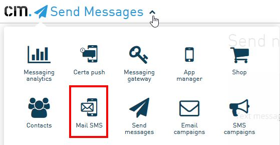 How to send sms messages using my email application | CM Help Center