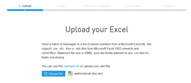 How to send SMS Messages to a list in Microsoft Excel? | CM Help Center